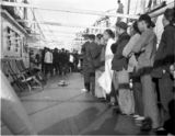 Thumbnail of Fire drill on the Steamship Mongolia