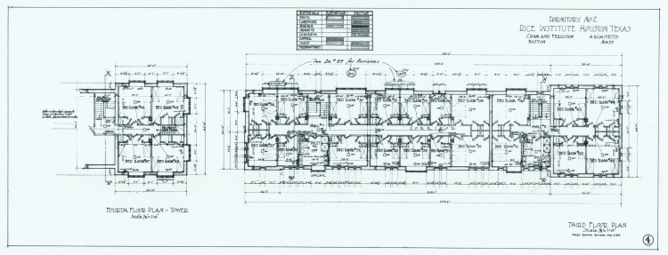 Third and Fourth Floor Plan - Baker College (East Hall ...