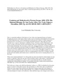 feminism and motherhood in western europe 1890 1970 allen ann taylor