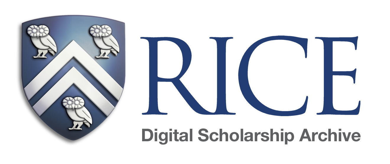 rice university electronic theses and dissertations